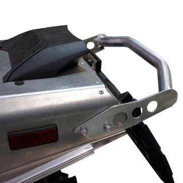 SKINZ PROTECTIVE GEAR Aluminum-Polished Bumper Yamaha