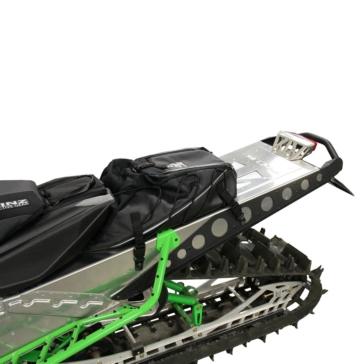 Skinz Aluminum-Polished Bumper Rear - Aluminium - Yamaha, Arctic cat