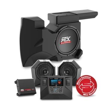 MTX AUDIO Système audio RZRSYSTEM2 UTV - 2 - 450 W