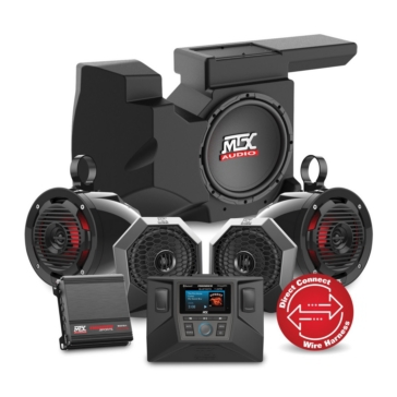 MTX AUDIO RZRSYSTEM3 Audio System UTV - 4 - 650 W