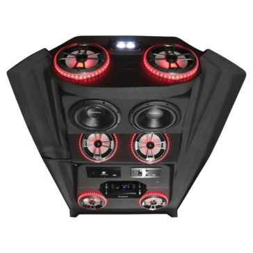 6 - 100 W AUDIOFORMZ Polaris RZR 4 900/1000 Stereo Roof Top