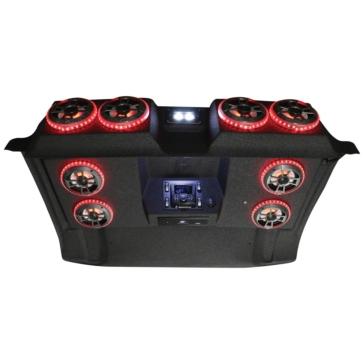 8 - 100 W AUDIOFORMZ Polaris Ranger 1000 Stereo Roof Top