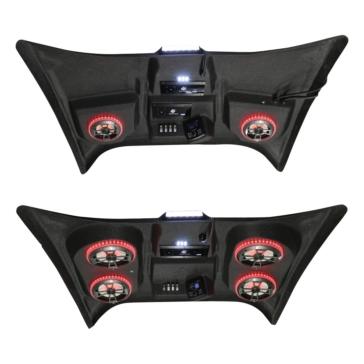 4 - 268 W AUDIOFORMZ Can-Am Maverick X3 Stereo Roof Top