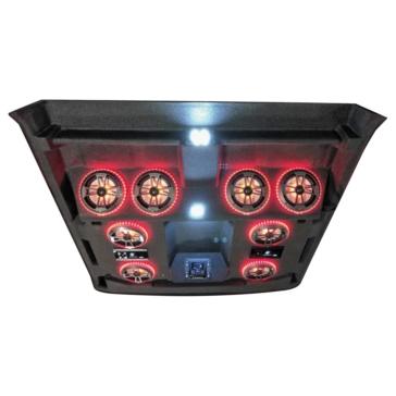 8 - 180 W AUDIOFORMZ Kawasaki Mule Pro-FXT Stereo Roof Top