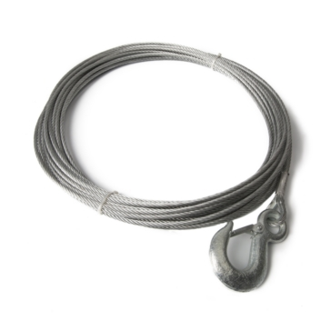 5300 lbs KIMPEX Winch Cable with Hook
