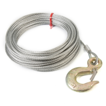 Kimpex Winch Cable with Hook 5700 lbs