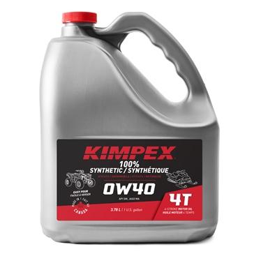 Kimpex Huile à moteur Motoneige/VTT 4-S100 0W40 0W40