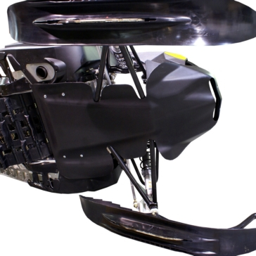 SKINZ PROTECTIVE GEAR Snowmobile, Skid plate