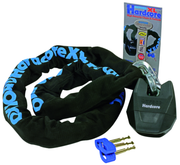 Oxford Products Hardcore XL High Security Chain and Padlock