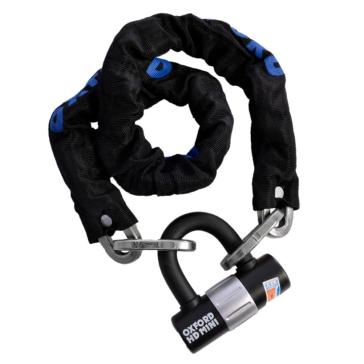 Robuste chaîne à cadenas OXFORD PRODUCTS Chaîne - Noir - 1.5 m