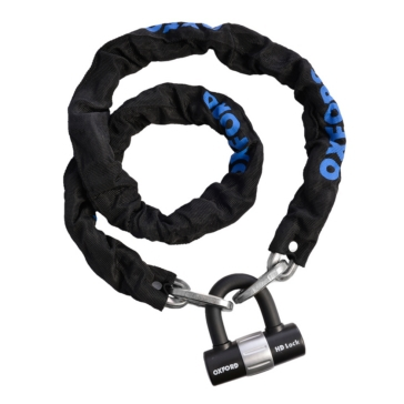 Oxford Products Chaîne antivol et cadenas HD Chain Lock
