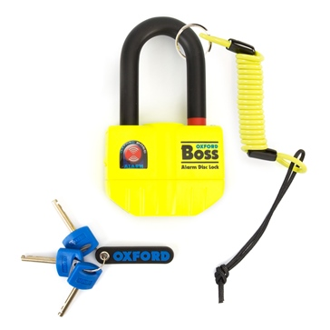 Oxford Products Boss Alarm Ultra Strong Alarm Disc Lock