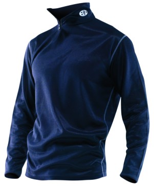 Long sleeves top - Men - Solid Color OXFORD PRODUCTS Underwear, Long Sleeved Zip Neck top