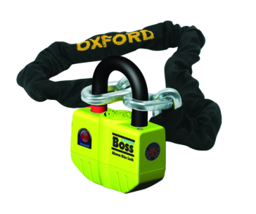 Chain, U-Lock - 2 m OXFORD PRODUCTS Boss Alarm - Super Strong Alarm Chain