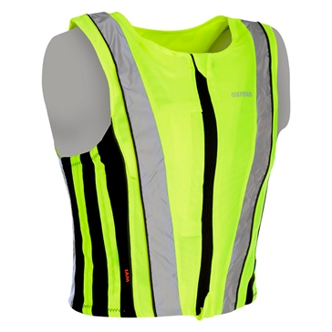 Oxford Products Veste de sécurité réfléchissante Active Yellow Homme, Femme