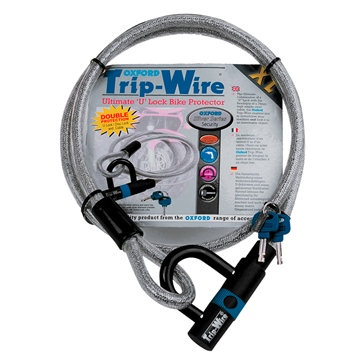 Oxford Products Trip-Wire Cable and Padlock