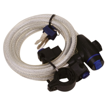 "Câble ""LockMate"" OXFORD PRODUCTS Câble - Clair - 1.8 m"