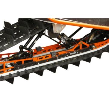 SKINZ PROTECTIVE GEAR Renfort de rail d'aluminium Polaris - 6