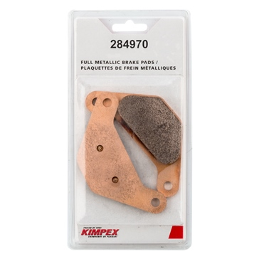 Kimpex HD HD Metallic Brake Pad Metal - Rear