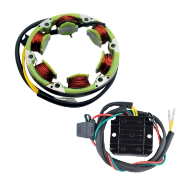 Kimpex HD Stator, Voltage Regulator Rectifier Kit Honda - 285120