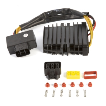 Kimpex Régulateur redresseur de voltage Mosfet Kawasaki, Suzuki, Yamaha, Arctic cat, Can-am, Honda