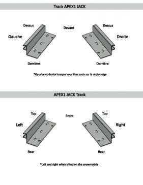 SEAT JACK Slide Rail Kit
