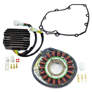 Kimpex HD Stator, Voltage Regulator Rectifier & Gasket Kit Suzuki - RM22964