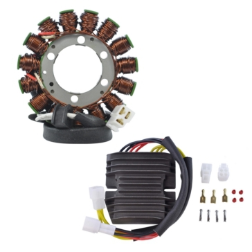 Kimpex HD Generator Stator & Mosfet Voltage Regulator Kit Suzuki - RMS900-100116