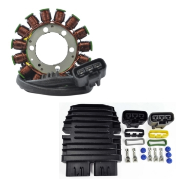 Kimpex HD Generator Stator & Mosfet Voltage Regulator Kit Yamaha - RMS900-100118