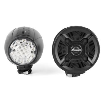 Haut-parleurs Bluetooth avec lumière DEL BAZOOKA