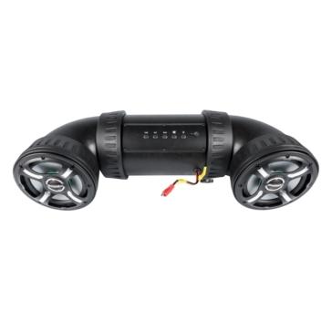 Haut-parleurs Bluetooth avec lumière DEL et télécommande BAZOOKA