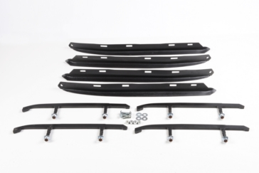 Ski-Doo SNOWTRACKER U-Blade and Auto-Sharpenings Semi-aggressives Ski Wear Bars