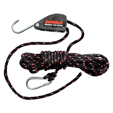30' SNOBUNJE Safety Rope Ratchet With 30' Rope