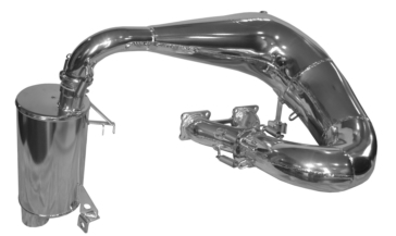 STRAIGHTLINE PERFORMANCE Complete Exhaust for 800cc Arctic Cat