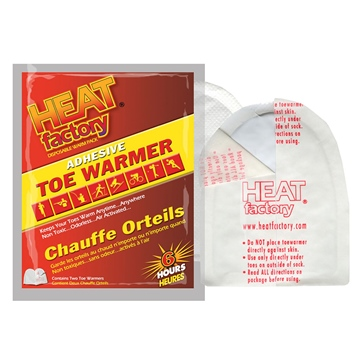 Heat Factory USA Adhesive Toe Warmers