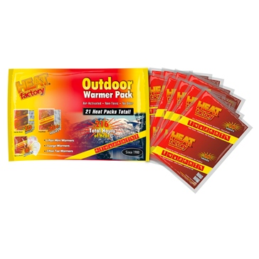 Heat Factory USA Outdoor Warmer Big Pack