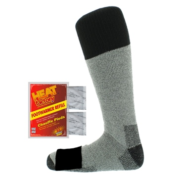 Heat Factory USA Heated Merino Wool Sock Men, Women