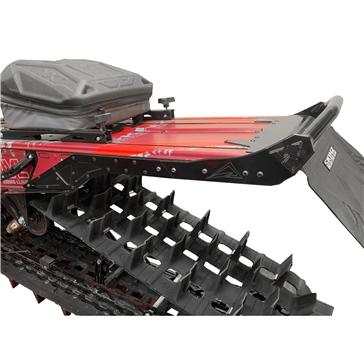 Skinz Rear Bumper Rear - Aluminium - Fits Polaris