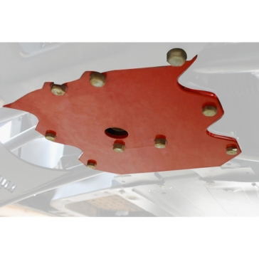 HIGH LIFTER Differential Protector Plate Polaris