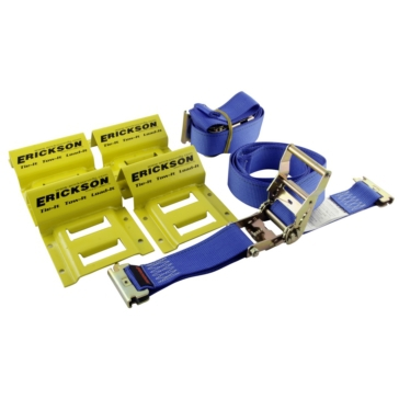 ERICKSON ATV Wheel Chock and Tie-Down Strap Kit