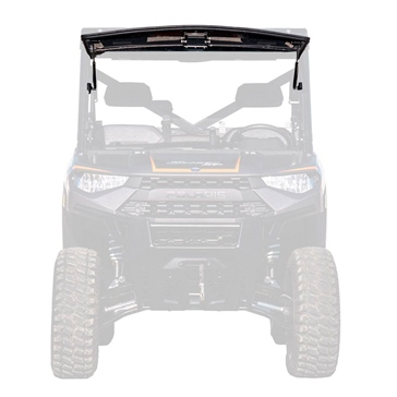 Super ATV Flip windshield Front - Polaris