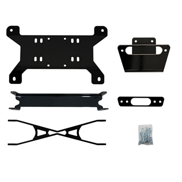 Super ATV Frame Stiffener with Winch Bracket