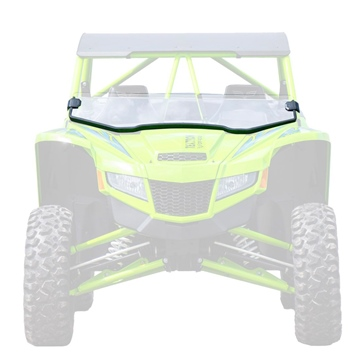 Super ATV Half Windshield Textron