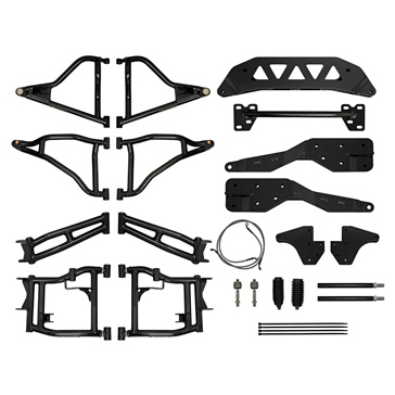 Super ATV Lift Kit Long Travel Polaris - +5""