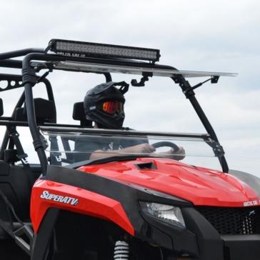 Super ATV Flip windshield Arctic cat