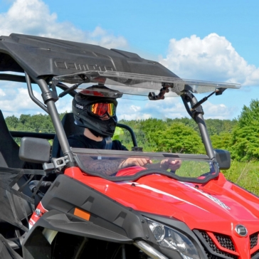 Super ATV Pare-brise à bascule Avant - CFMoto - Polycarbonate