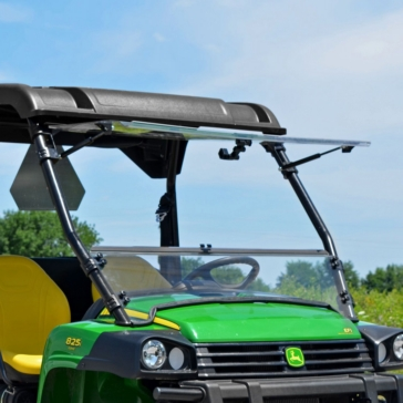Super ATV Flip windshield Front - John Deere - Polycarbonate