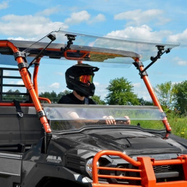 Super ATV Pare-brise à bascule Kawasaki