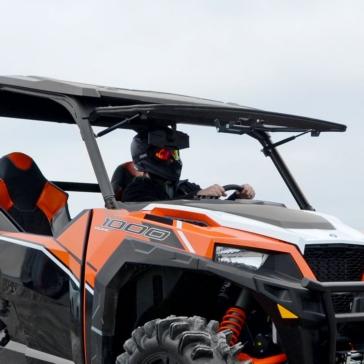 Super ATV Pare-brise à bascule Polaris