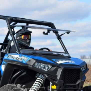 Super ATV Flip windshield Polaris